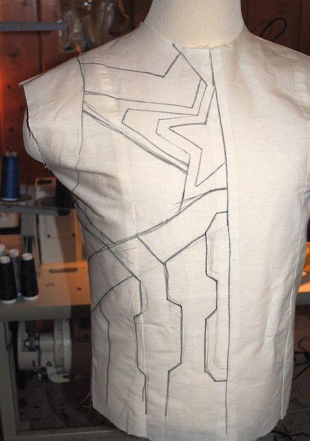 Captain America AoU Costume