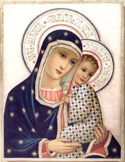Благословената Дева Майка на Христос, нашия Изкупител ни спаси - Buscar con Google