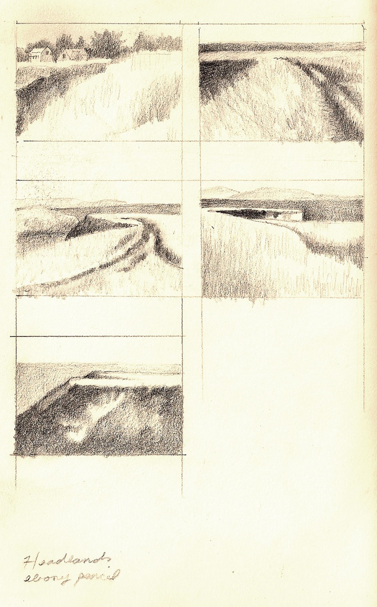 "thumbnail sketches ""So practical, and yet beautiful on their own."" KB"