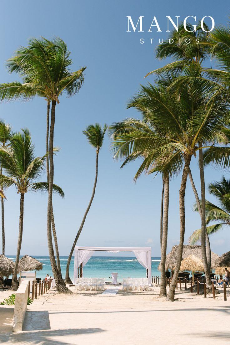 #ceremony #destination #palmtrees #sand #beach #water #ideas #outdoors #aisle #wedding #weddingday