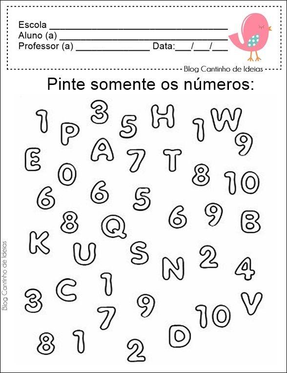 Cantinho de Ideias: Matemática na Educação Infantil - Atividades