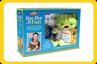 Bye Bye Paci is a great way to wean your child off the pacifier! helpukids.com/About-byebyepaci.html