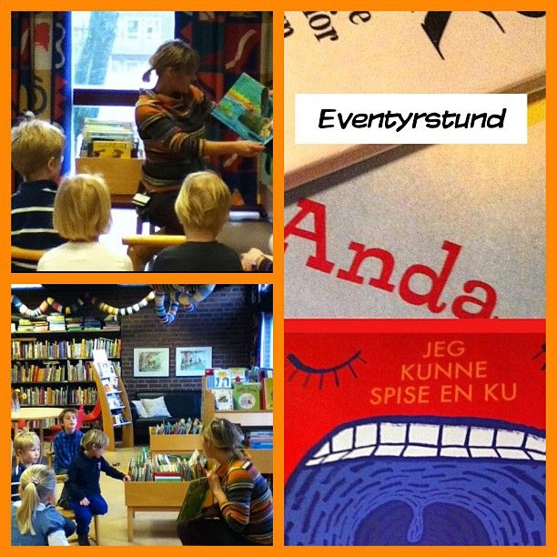 """@sandefjordbibliotek's photo: """"#barn #barneavdelingen #mittbibliotek #sandefjordbibliotek #eventyrstund #eventyr"""""""