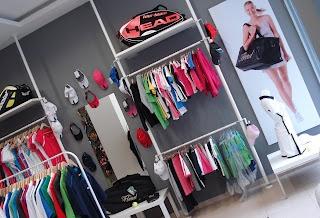 Interior spaces - tennis store