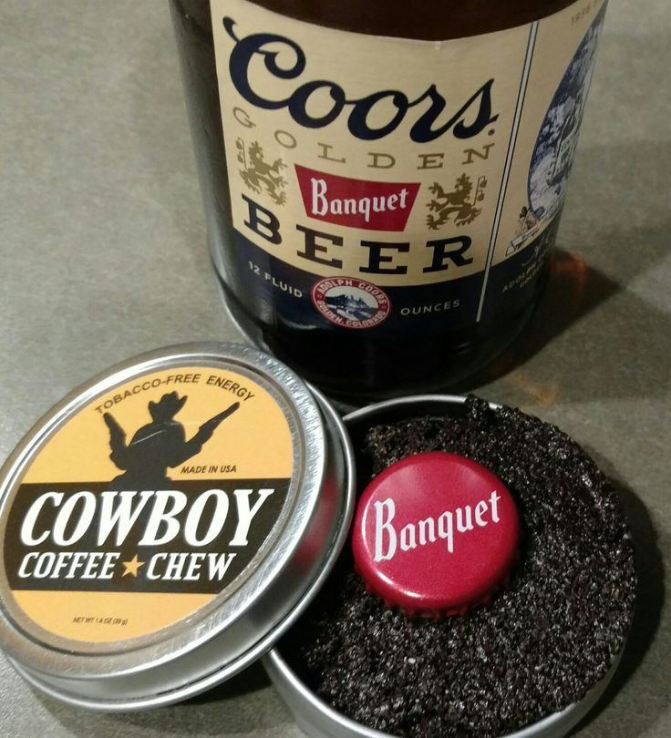 Iced Cold Coors Banquet &  a Lip of Cowboy Coffee Chew What a heavenly USA Combo! What's your Favorite Beer? PLEASE Comment Like, Comment & Share #beer #coffee #share