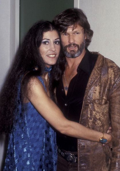 Rita Coolidge and Kris Kristofferson attend Kris Kristofferson Concert Performance on September 23 1979 at Radio City Music Hall in New York City