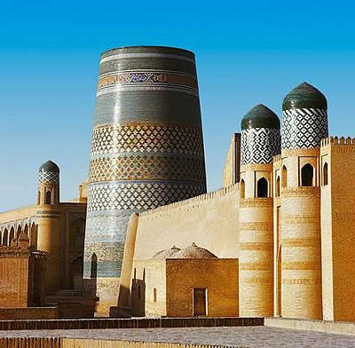 khiva, xorazm province, uzbekistan