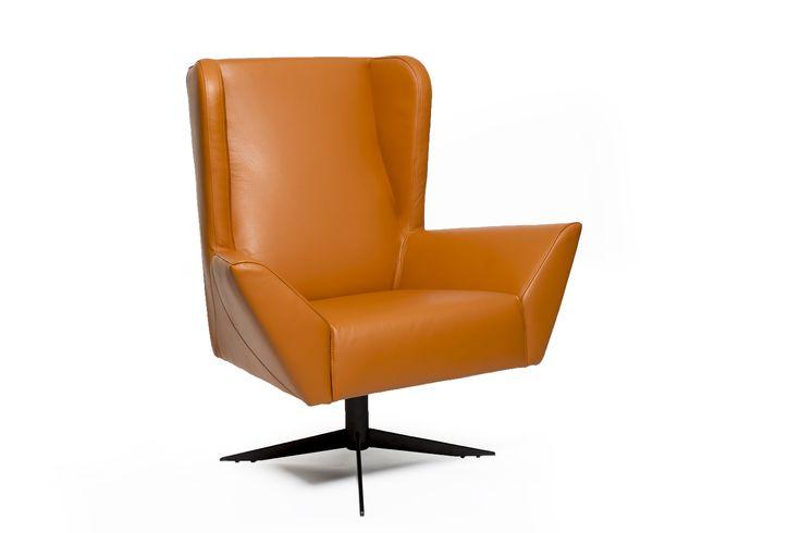 high back armchair Brigitte