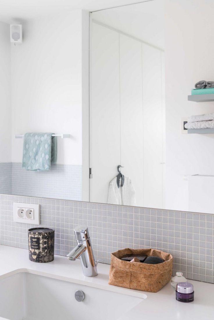 25 beste ideeà n over kleine witte badkamers op pinterest