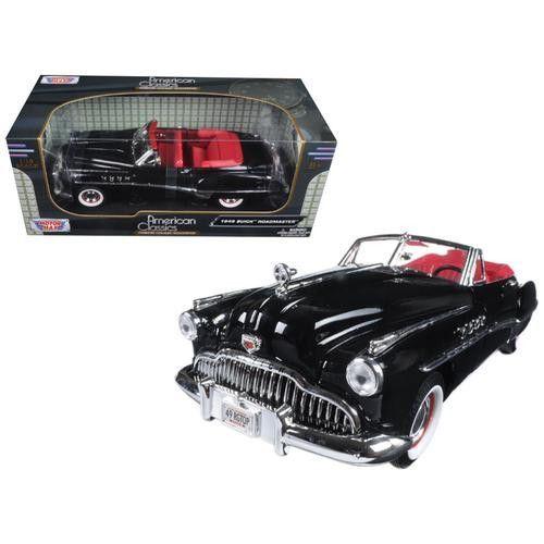 1949 Buick Roadmaster Black 1/18 Diecast Model Car by Motormax