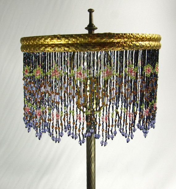29 Best Art Nouveau Art Deco Beaded Lamps Images On