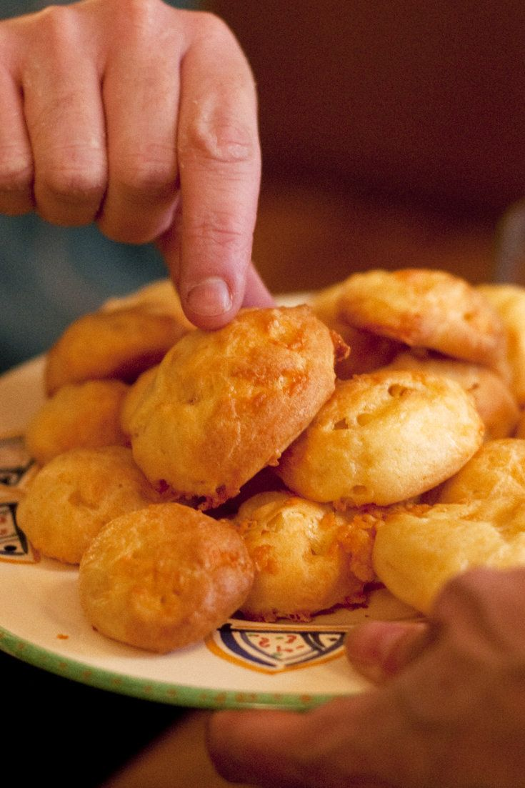 Cheddar replaces the more traditional Gruyère, Roquefort or Parmigiano-Reggiano in this French recipe for gougères The Cheddar performs admirably.