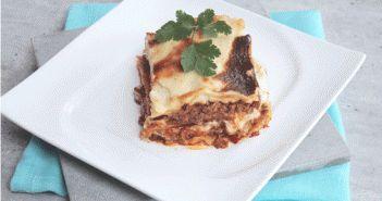 Recette de lasagnes : lasagnes à la bolognaise