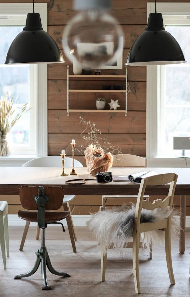 A cosy Norwegian home in the country