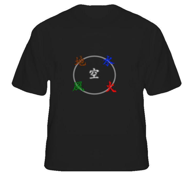 Godai Five Elements Buddhist T Shirt