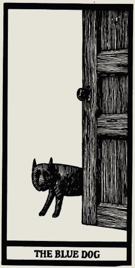 22 best edward gorey tarot images on pinterest edward gorey tarot edward goreys anxious irritable tarot card set is predictably perfect fandeluxe Choice Image