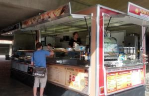 22ft Street food van from KK Catering UK