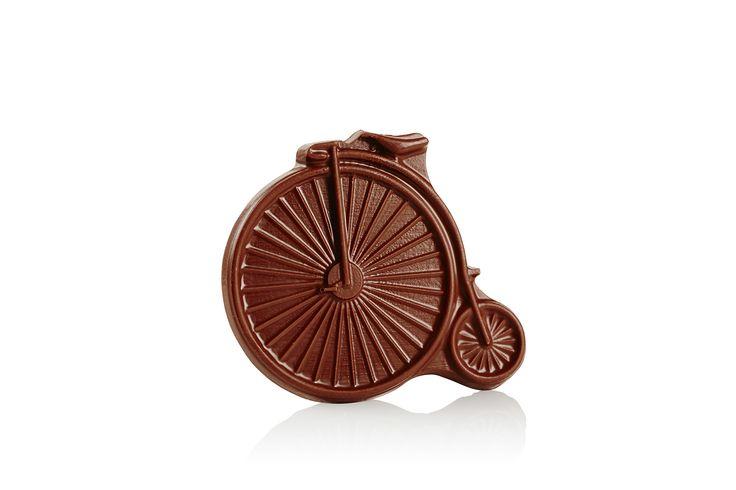 Premium milk chocolate Penny Farthing - Luka Chocolates shop: http://shop.lukachocolate.com.au/collections/chocolate-accessories