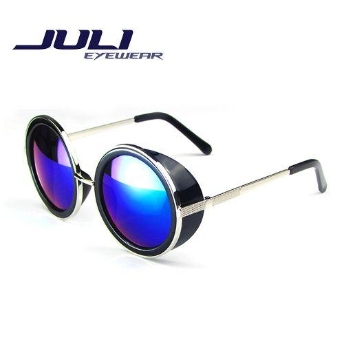 Купить товарПокрытие солнцезащитных очков стимпанк круглый мода солнцезащитные очки женщин модной музеальная панк металлической солнцезащитные очки мужчины ретро óculos 66666C в категории Солнцезащитные очкина AliExpress.                                                                               Покрытие солнцезащитных очков