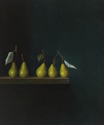 Malcolm Rains :: Five Pears, September