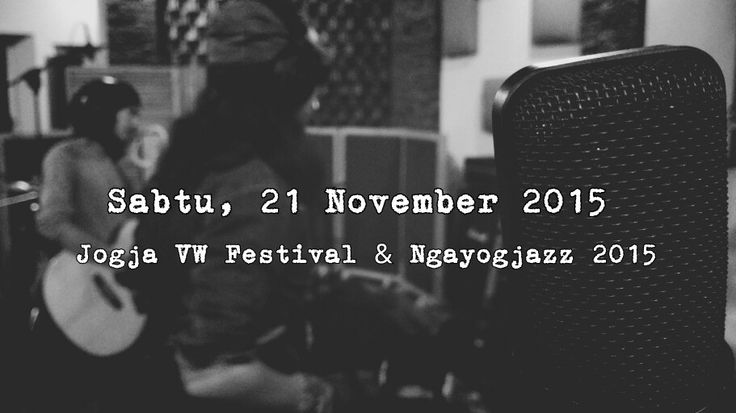 Gie will be on stage at Jogja VW and Ngayogjazz