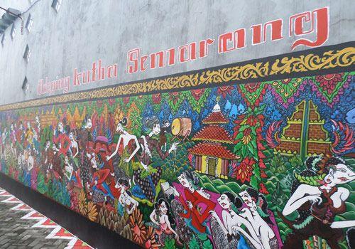 Batik Village, Semarang #indpnesia #liburan #holiday #tour #media #trip #journey #village # batik #travel #mural #wonderful