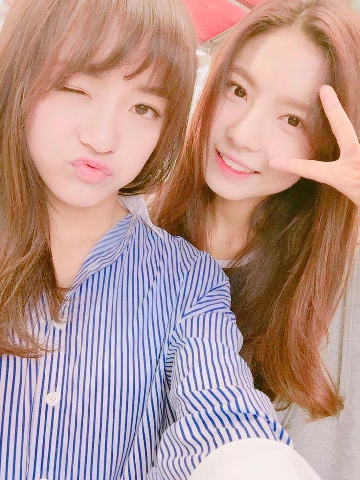 Kim Sejeong and Kim Nayoung Gugudan❤