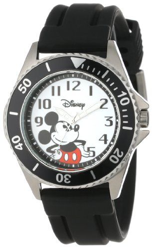 1000 images about disney watches mickey mouse disney men s w000507 mickey mouse honor rubber strap watc