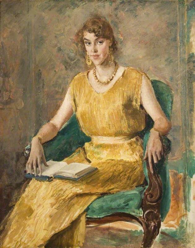 Augustus John (British, 1878-1961) - Portrait of Vera Fearing, 1931