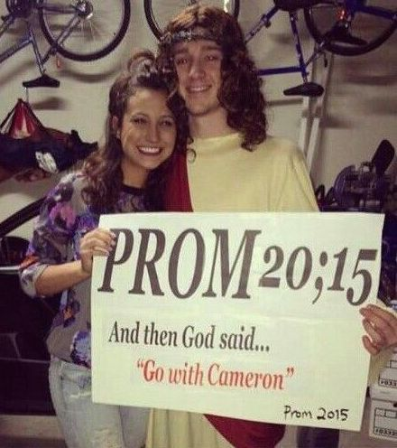 """Promposal Ideas – """"No Brainer"""" Ways to Ask Someone to Prom Religious Promposal"""