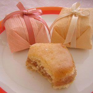 Brazilian wedding cookies