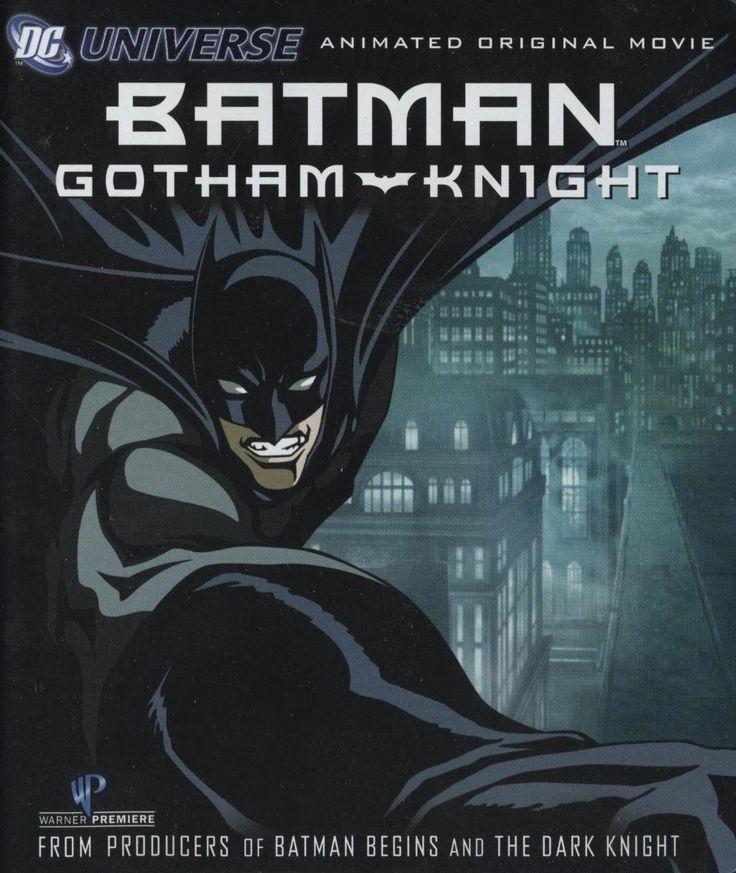 If Dad loves Batman, he'll enjoy this Batman Gotham Knight animated movie on blu-ray. #batman #blu-ray #ck $14.95