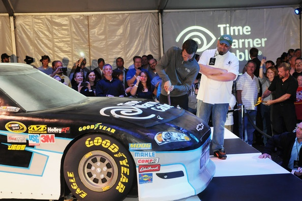 Kasey Kahne Photo - Unveil Of Kasey Kahne's No. 5 Time Warner Cable Chevrolet Ace of Cakes-Cake ! Amazing!