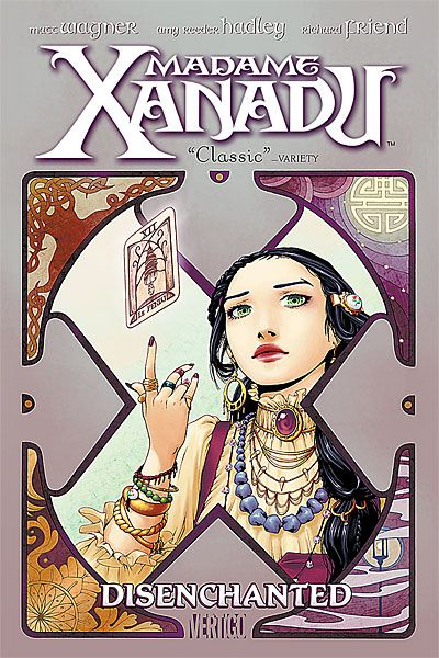 Madame Xanadu was created by David Michelinie, Val Mayerik and Michael Kaluta in February 1978, and made her first appearance in Doorway to Nightmare #1. Madame Xanadu was the main star of this ser…