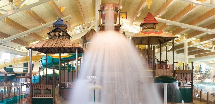 Family Indoor Waterpark-Great Wolf Lodge-Water Park Resorts