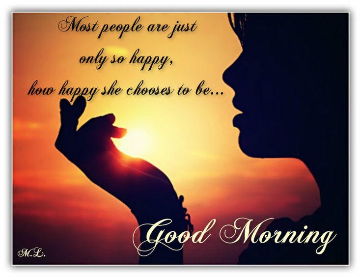 Většina lidí je pouze tak šťastná, jak šťastná se rozhodne být...