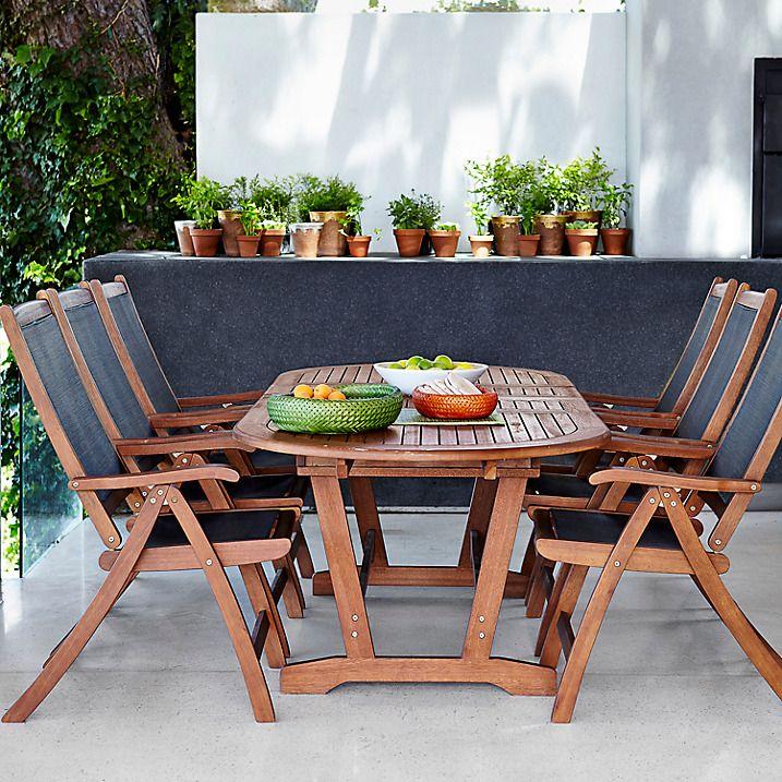 Buy John Lewis Naples Outdoor 6 10 Seater Extending Dining Table Online at  johnlewis. 8 best Garden furniture images on Pinterest