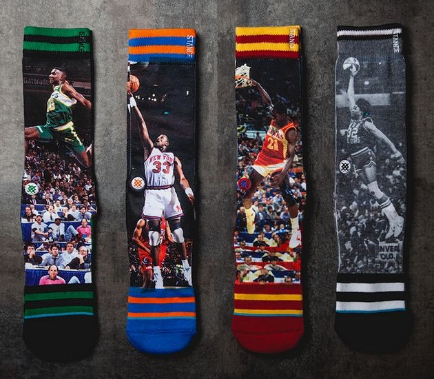 "Stance ""NBA Legends"" socks"