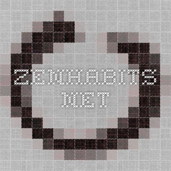 The Key Habits of Organization  zenhabits.net