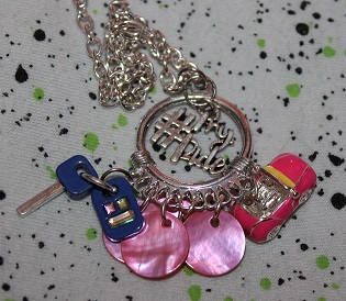 Check out this item in my Etsy shop https://www.etsy.com/ca/listing/508041152/necklace-1-pride-convertible-pink-car