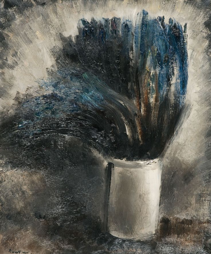 jean fautrier | Jean Fautrier (1898-1964). Vase de fleurs
