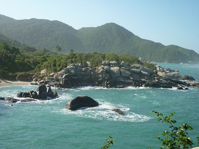Tayrona National Park near Santa Marta, Colombia-One of the most beautiful places that I have ever been.