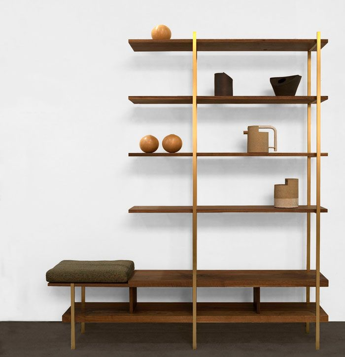Pin By Reham Hany On Open Shelving: 27 Freestanding Shelving Systems That Double As Room