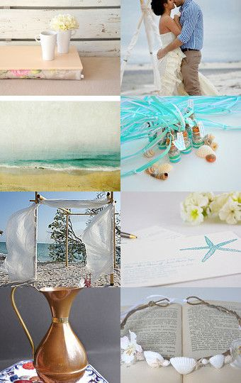 --Pinned with TreasuryPin.com beach wedding