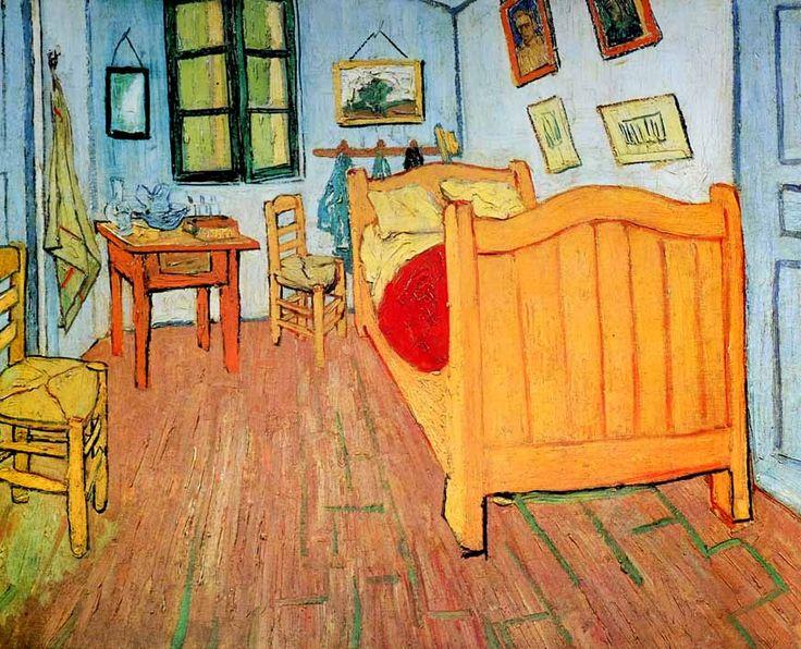 Vincent van Gogh | 1853-1890, Netherlands | La Chambre à Coucher, 1888 | Amsterdam