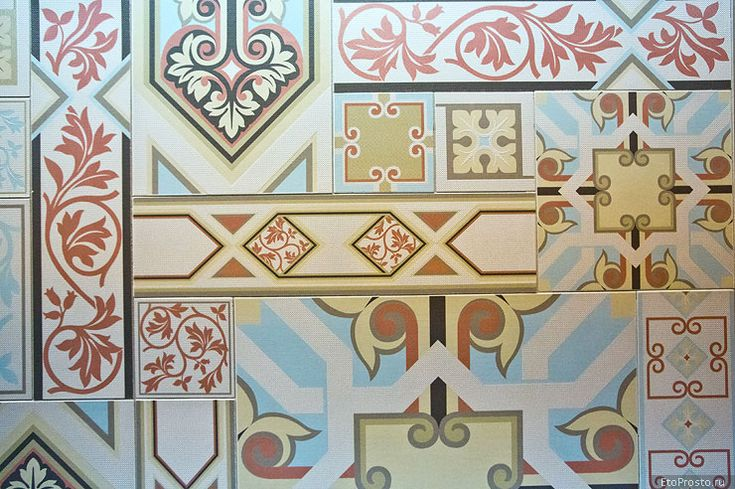 Последние тенденции в дизайне плитки. Новые коллекции 2014
