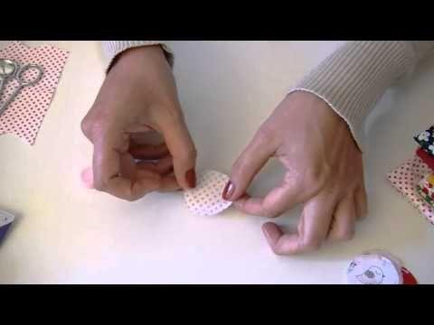 """DaWanda DIY-Special: Stoffknöpfe selber machen von """"Knopf & Kragen"""" // Making fabric buttons"""
