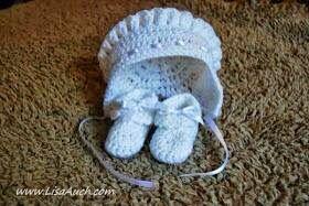 free baby bonnet crochet pattern free baby booties crochet patterns