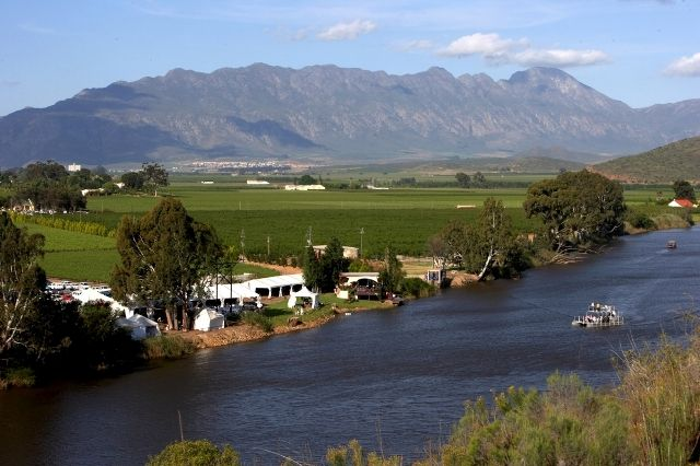 Robertson, Wine on the river, Western Cape South Africa