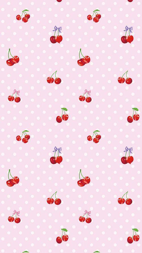 cherries ~ beauty pattern ~